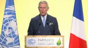 Prins Charles - ulastelig antrukket i mørk blå, dobbeltspent dress på COP21-møtet i Paris i 2015