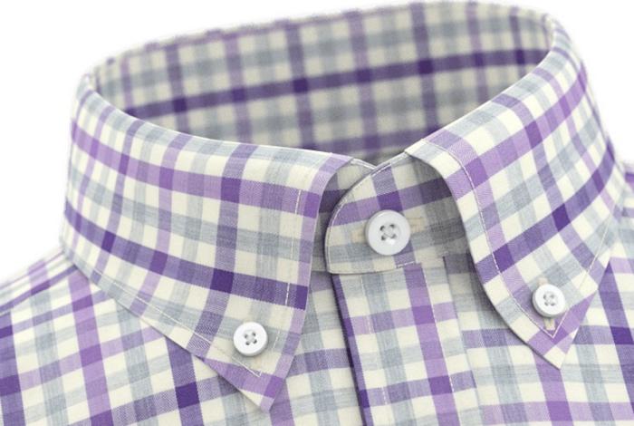 Button-down-skjorte i 100% egyptisk bomull fra TailorStore