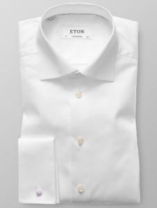 Klassisk skjorte med doble mansjetter fra Viero