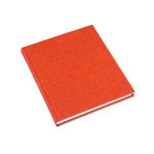 Oransje notatbok fra Bookbinders