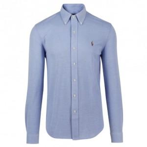Ralph Lauren lys blå Oxfordskjorte med button-down krage. (foto: Ferner Jacobsen)