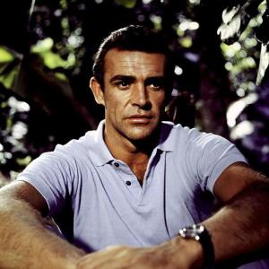 Sean Connery som James Bond i Dr. NO (1962)