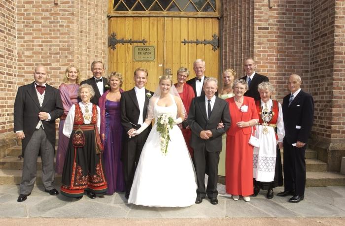 Antrekk til bryllup